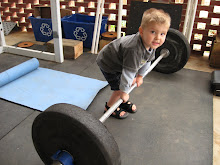 Sims is ready to deadlift!