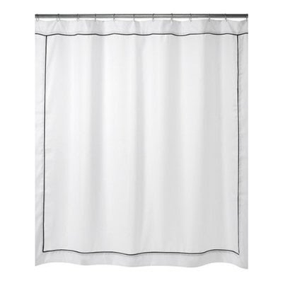 Stitched By Janay: Monogrammed Shower Curtain
