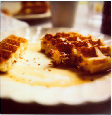... great morning. I ate five waffles, and I lived to see the afternoon
