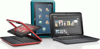 Dell Inspiron Duo convertible netbook details