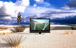 battery powered Toshiba Power TV LCD TV image