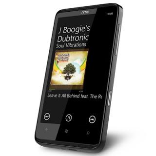 HTC HD7 Windows Phone 7 India images
