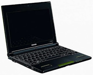 Toshiba NB550D AMD Brazos based netbook images
