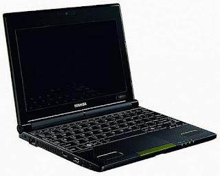 Toshiba NB550D AMD Brazos based netbook images