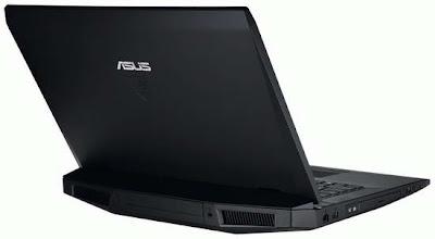 Asus G73SW gaming laptop pics