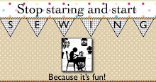 Stop staring and star Sewing