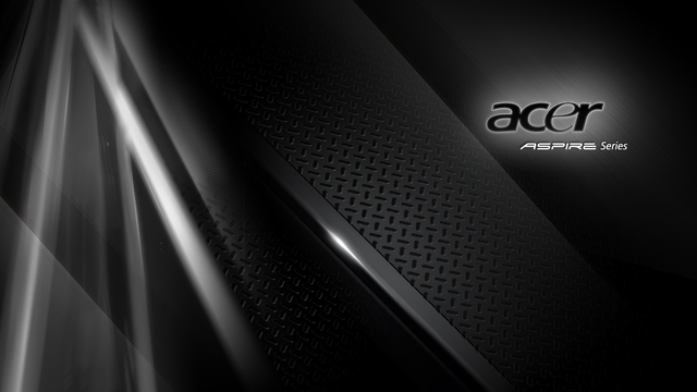 acer wallpaper. Acer Aspire Black Wallpaper