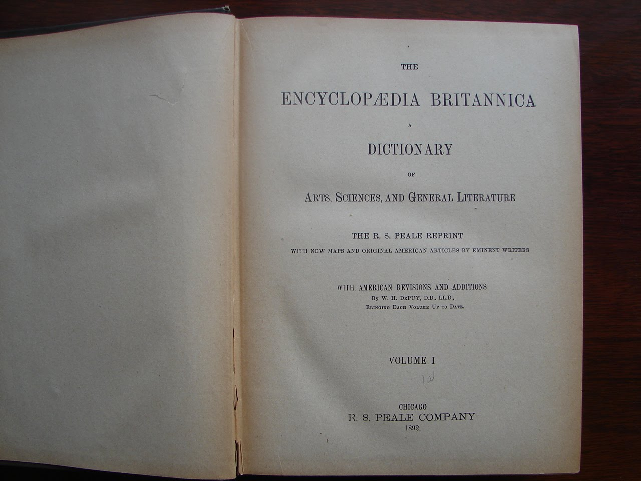 Recently Banned Literature: ENCYCLOPÆDIA BRITANNICA, 1892