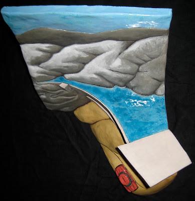 Ben Belknap Ceramic Sculpture Dam