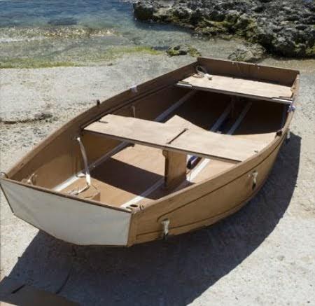 Il fannullone e la barca diventa pieghevole - Barca porta bote ...
