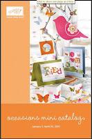 2010 Occasions Mini Catalog