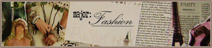 Major: Fashion