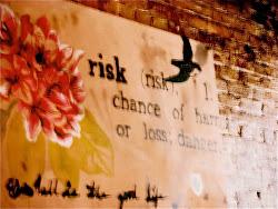 chance of harm or loss; danger