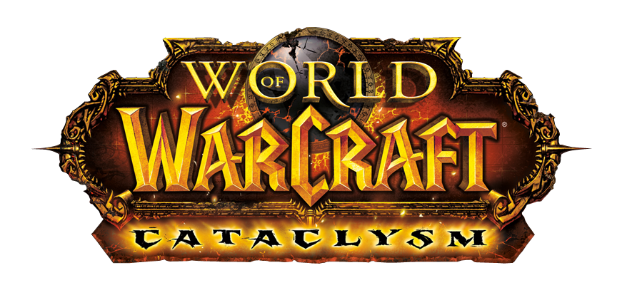 world of warcraft cataclysm logo. hairstyles World Of Warcraft