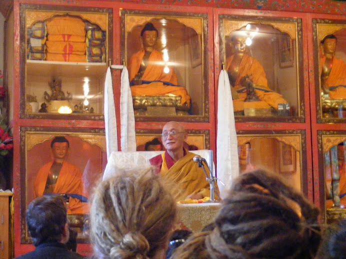 teaching of Geshe Sonam Rinchen