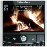 blackberry themes bold - Fire Theme