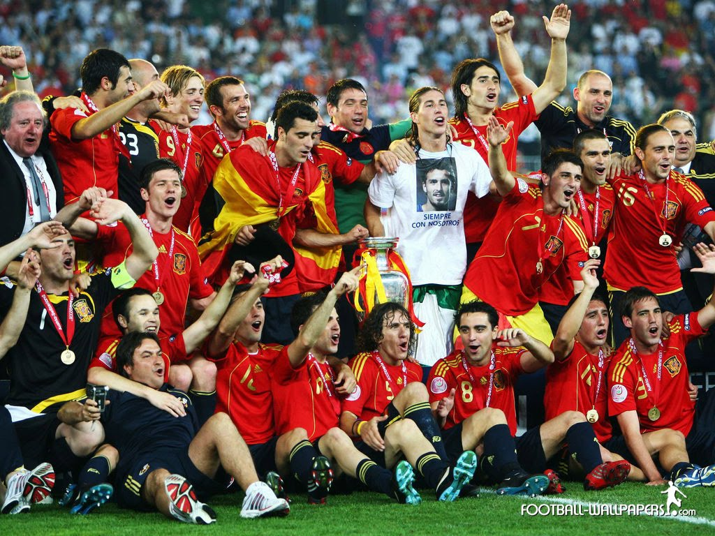 Spain in South Africa 2010: Spain wins Euro 2008