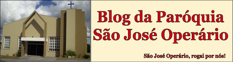 Blog da Paróquia São José Operário
