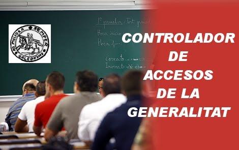 sipvs c curso de controlador de accesos de la generalitat