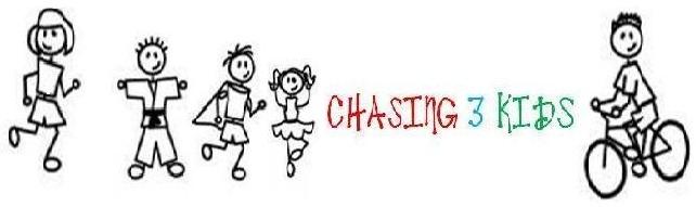 Chasing 3 Kids