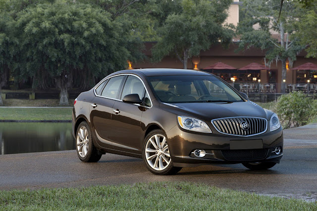2012 Buick Verano Official Photos