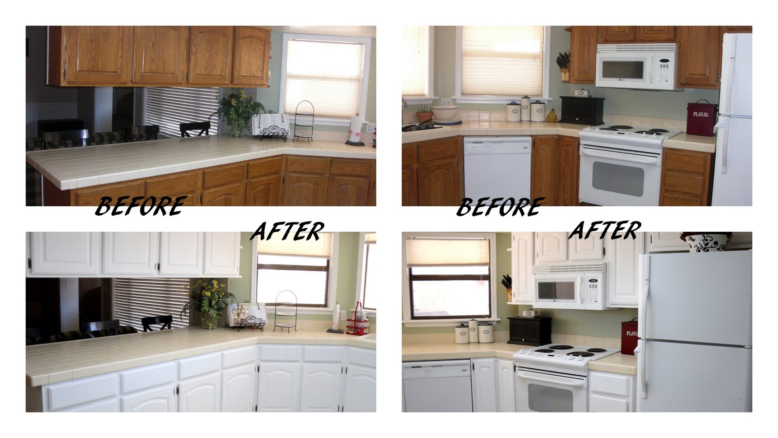 inexpensive kitchen renovations before and after. dark to bright kitchen update: guest inexpensive renovations before and after