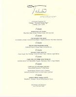 Talula Cobaya menu