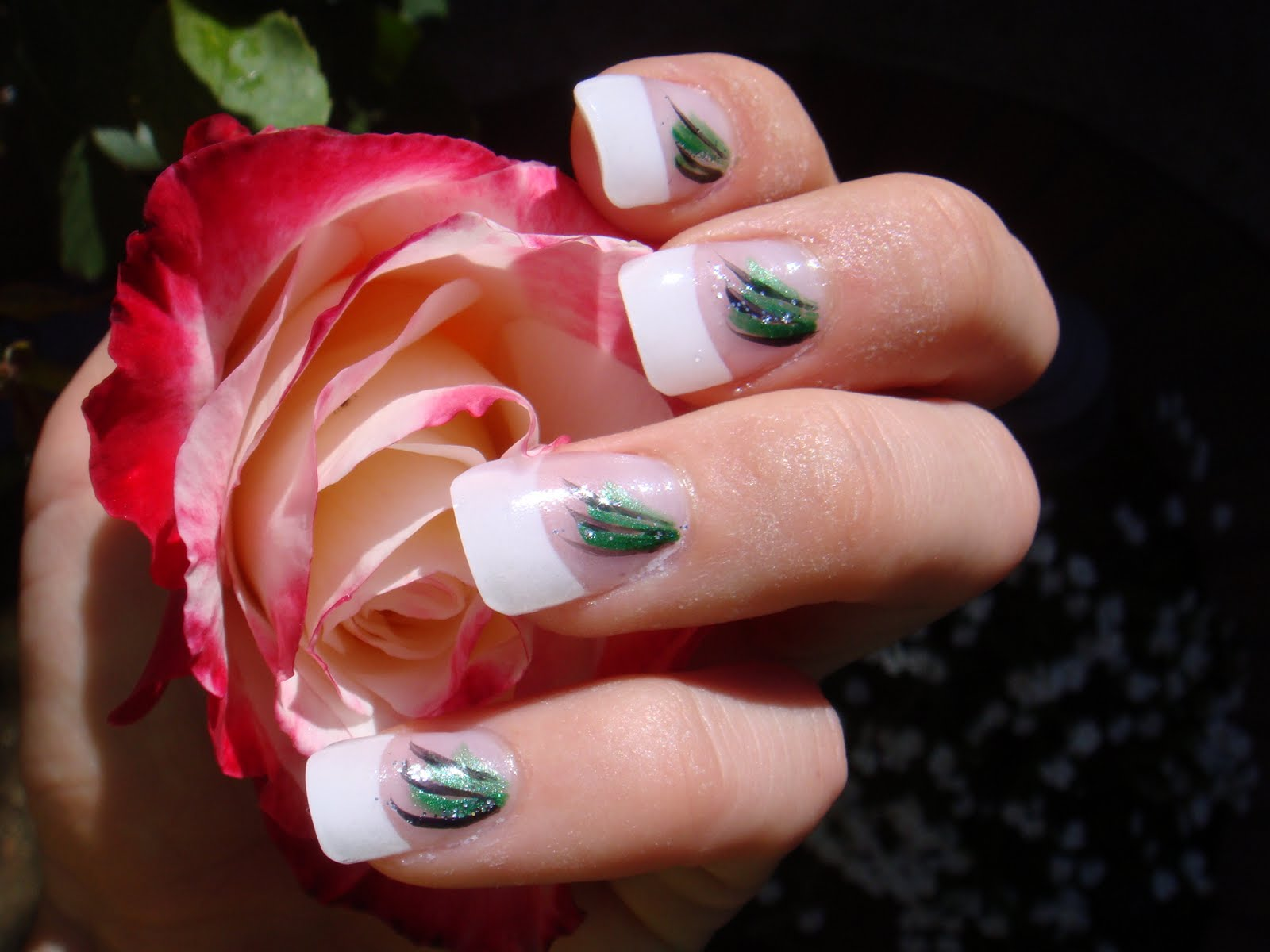 cute nail designs for prom