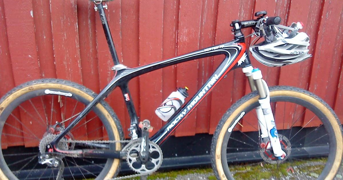 HenrikÖijer Cykelbloggen MTB utan hjul till salu