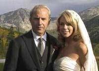 Kevin Costner and Christine Baumgartner Wedding Picture