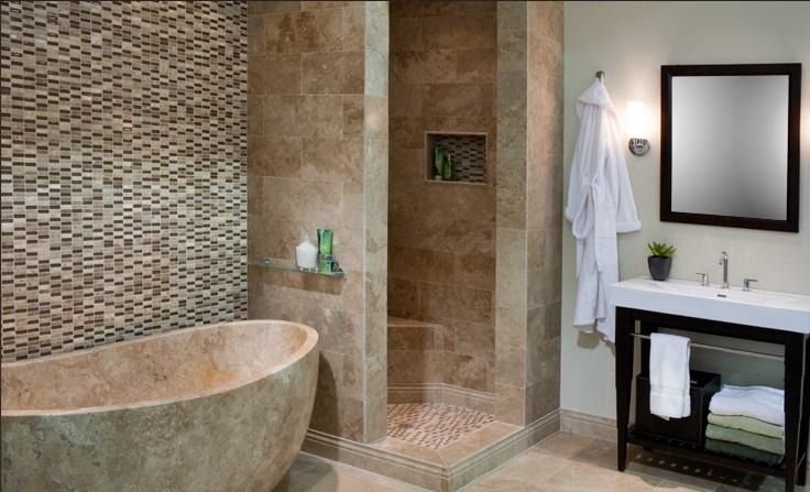 Regadera De Baño Moderna:Disenos De Banos Con Tile