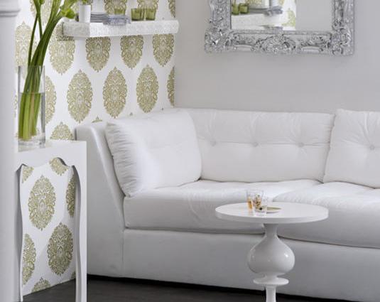 El retorno del papel tapiz casa haus decoraci n for Patron de papel tapiz para sala comedor