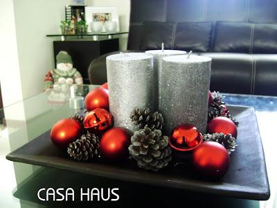F cil centro de mesa navide o casa haus decoraci n for Platos caseros faciles