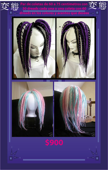 SYNTETIC DREADS $900