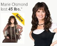 does marie osmond own part of nutrisystem?