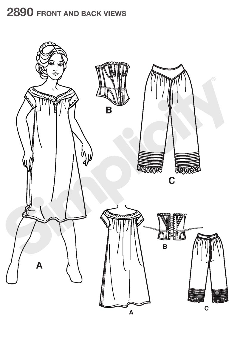 Just Another Crafting Blog: THE VICTORIAN DRESS PROJECT: Part III ...