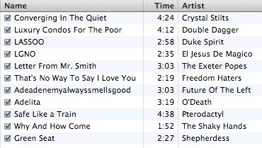 t11mp3twnfe2007 track listing