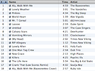November 2007 Mix