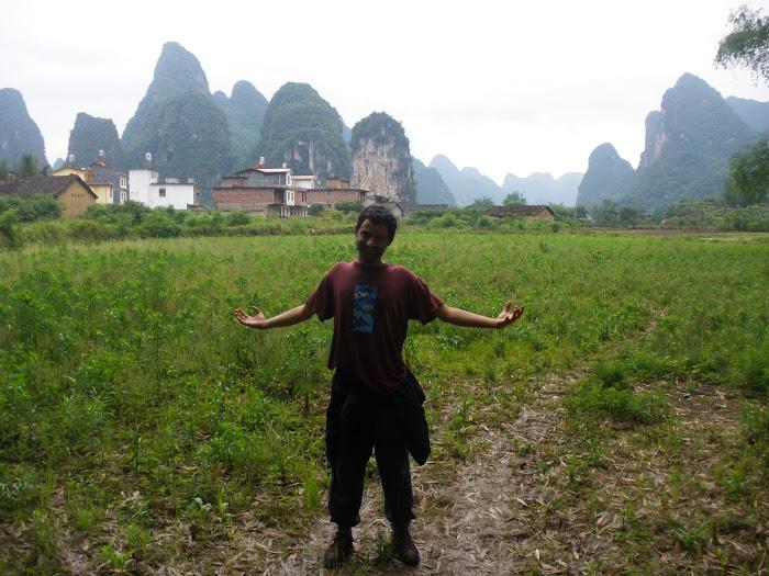 paisaje karstico en yangshuo