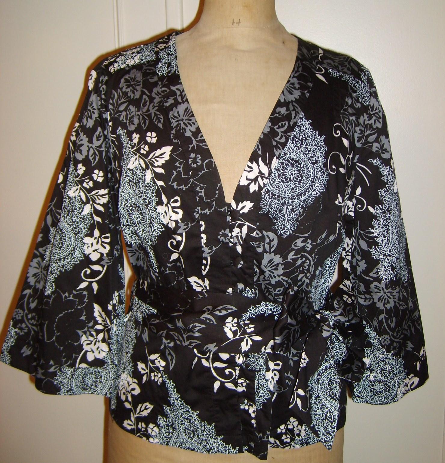 chemisier kimono Etam taille 42