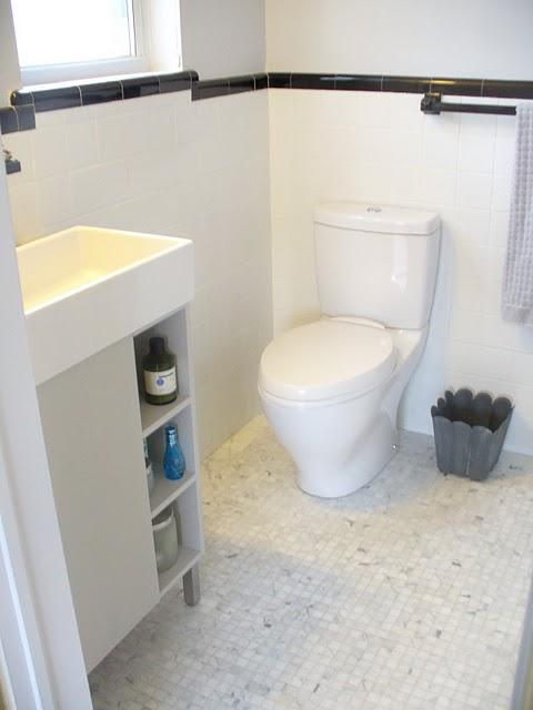 How to paint a tile floor bathroom