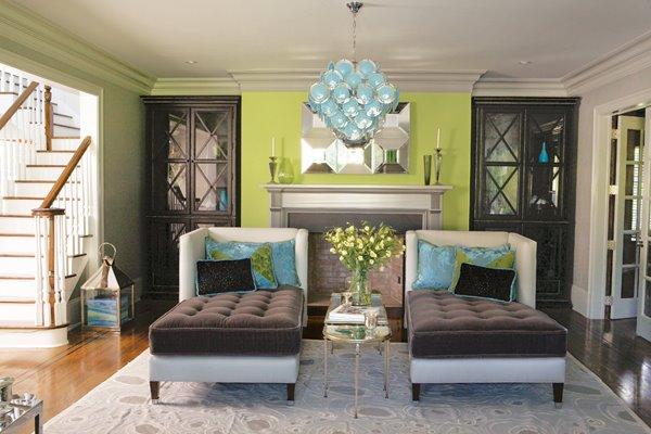 Blue Gray Color Scheme For Living Room Unique Design Decoration