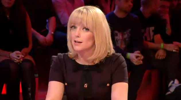 Our Firm Favourite, Lauren Laverne Wearing Moschino On This Weeks 10'o