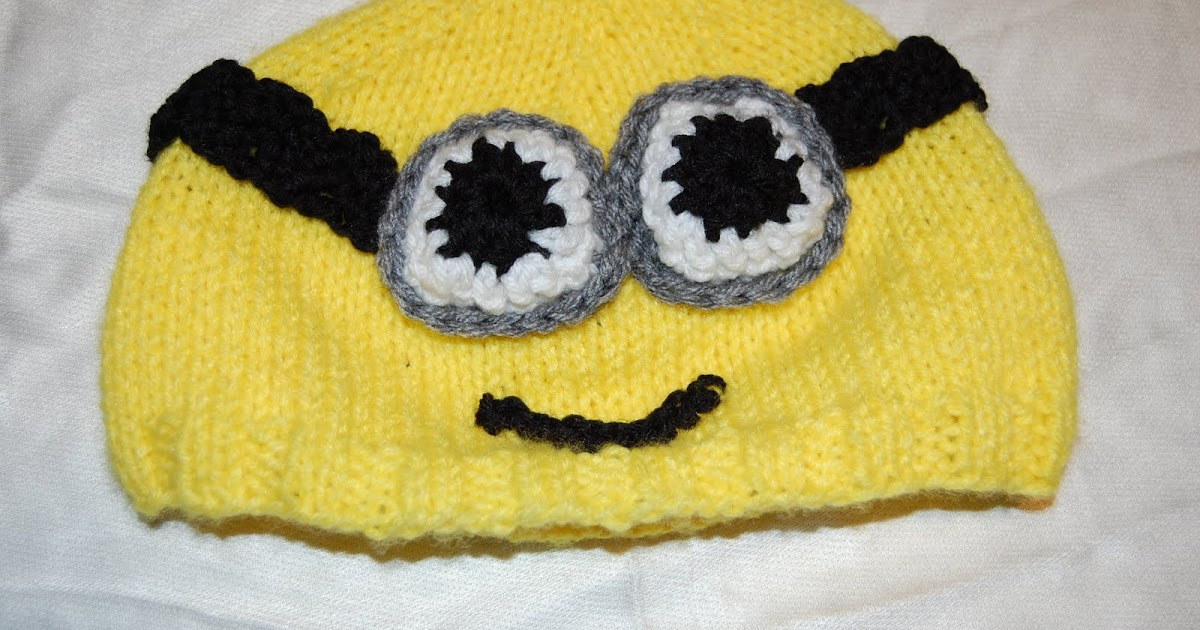 Minion Knit Hat Pattern Free : Katiedid Crafts: Free Patterns