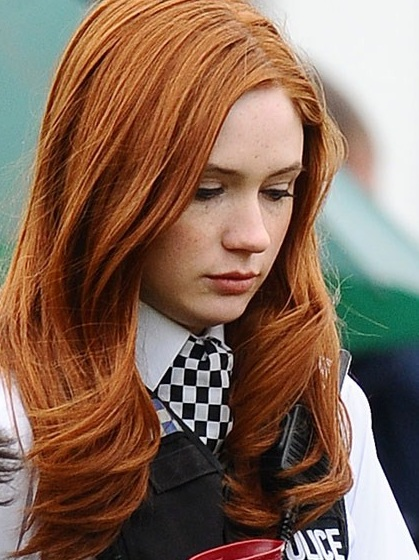 Hair Color Orange. burnt orange hair color pictures. reddish orange hair color.