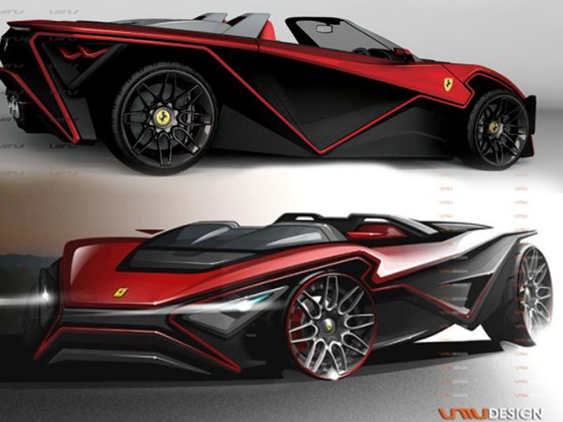 Amazing Ferrari Imola Sport Car Model And Design