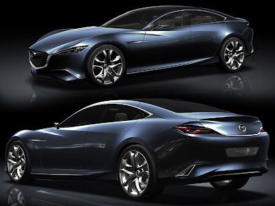 2010 Mazda Sport Cars Coupe Shinari Concept Car