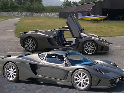 2011 Simbol Design Sports Cars Lavazza GTX-R The New Super Sports Cars