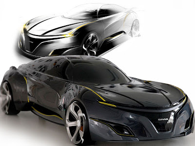 Youngho Jong Design For 2025 Saab Sports Sedan Concept