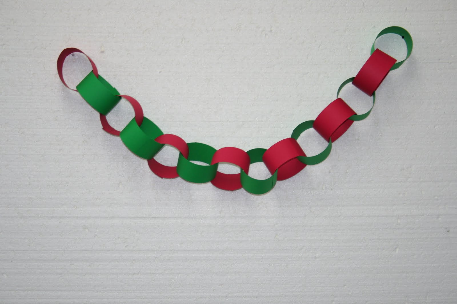 Christmas Hanging Paper Garland Chain Home Festival Party Ceiling Banner Decor.